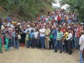 """A la inauguració del camí de """"Los Gajitos"""""""