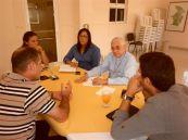Reunió amb Wilma, Monsenyor i el presi d'OCASHA